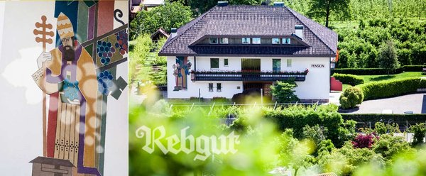Willkommen In Der Pension Rebgut In Lana Bei Meran Sudtirol
